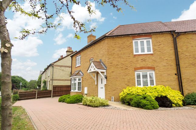 Thumbnail Semi-detached house for sale in Garfield, Langford, Biggleswade