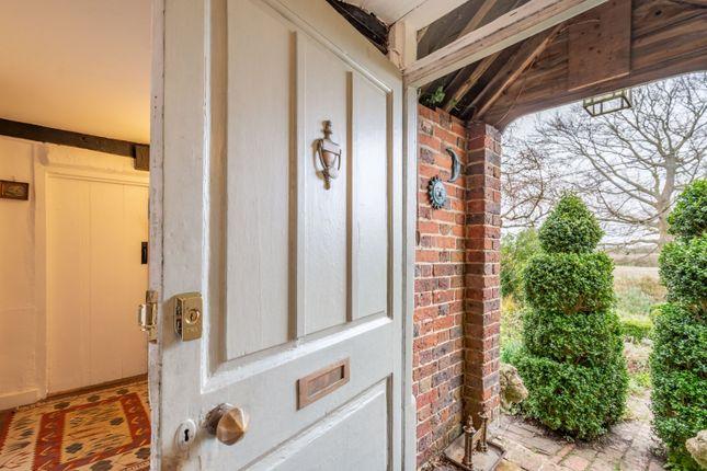 Front Door of The Street, Selmeston, East Sussex BN26
