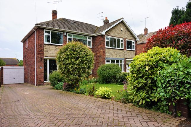 Thumbnail Semi-detached house for sale in Cusworth Lane, Doncaster