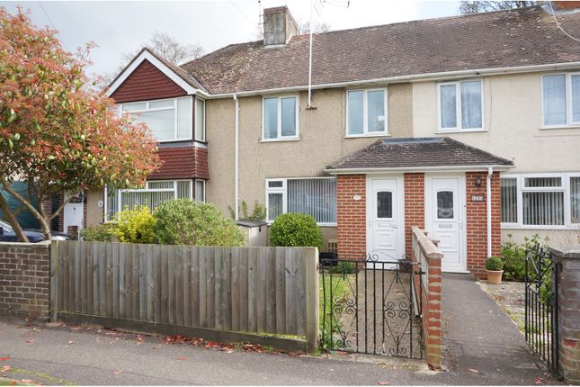 Thumbnail Terraced house for sale in Cheam Way, Totton