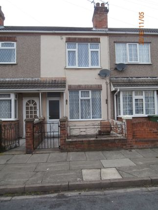 Thumbnail Terraced house to rent in St Heliers Road, Cleethorpes