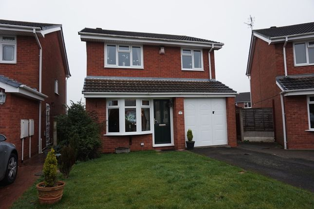 3 bed detached house for sale in Cornforth Close, Trinity Road, Kingsbury, Tamworth