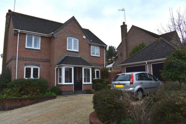Thumbnail Detached house to rent in Smitham Bridge Road, Hungerford