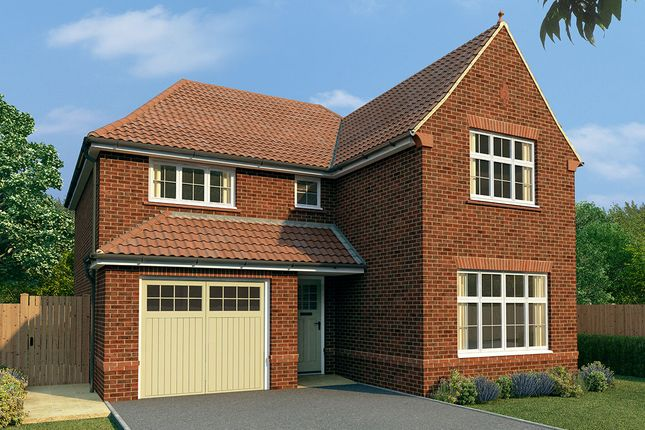 "Thumbnail Detached house for sale in ""Marlow"" at Salisbury Road, Marlborough"