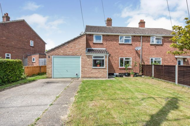 3 bed semi-detached house for sale in Fen View, Thorndon, Eye IP23