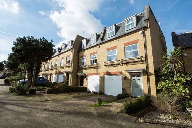 Thumbnail End terrace house for sale in Layton Place, Kew Village, Kew, Richmond, Surrey