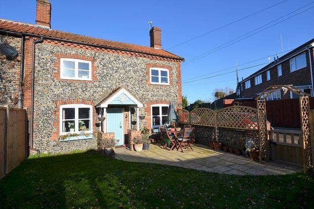 Thumbnail Semi-detached house for sale in Fen Lane, East Harling, Norwich, Norfolk.