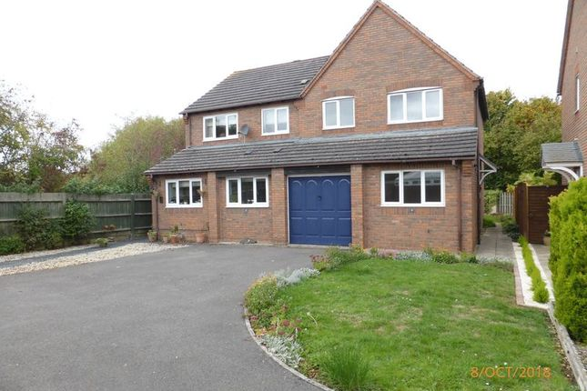 Thumbnail Semi-detached house to rent in Blackberry Grove, Bishops Cleeve, Cheltenham