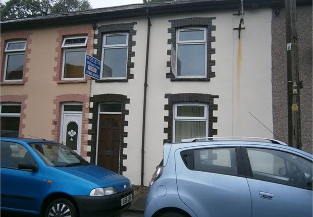 Thumbnail Terraced house to rent in Hillside Terrace, Wattstown, Rhondda Cynon Taff.