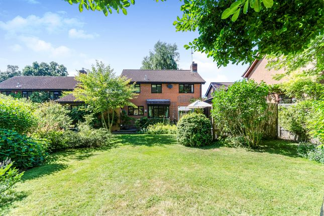 Thumbnail Detached house for sale in Bossington Close, Rownhams, Southampton