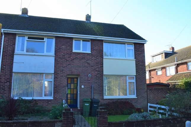 Thumbnail End terrace house to rent in Passfield Close, Eastleigh