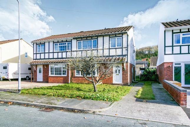 Thumbnail Semi-detached house for sale in Greenacres, South Cornelly, Bridgend