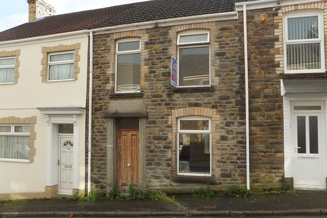 Thumbnail Terraced house to rent in Pleasant Street, Morriston, Swansea, City And County Of Swansea.