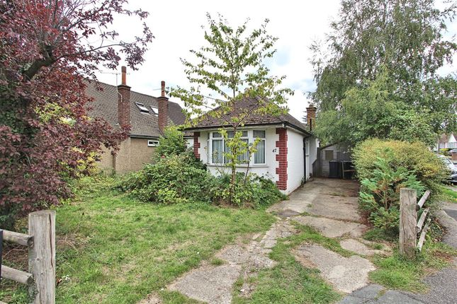 Thumbnail Detached bungalow for sale in Dickens Drive, Addlestone
