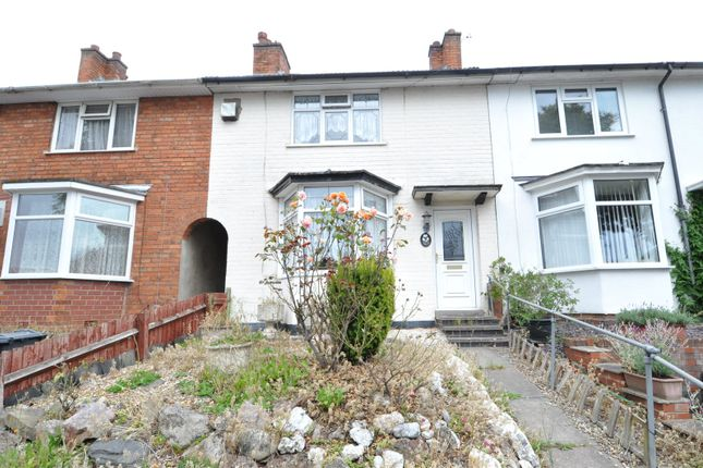 3 bed terraced house for sale in Derwent Road, Stirchley, Birmingham B30