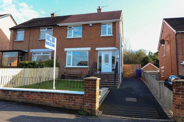 Thumbnail Semi-detached house for sale in Abbey Park, Stormont, Belfast