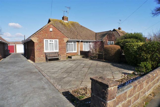 Thumbnail Bungalow for sale in Palatine Road, Goring-By-Sea, Worthing