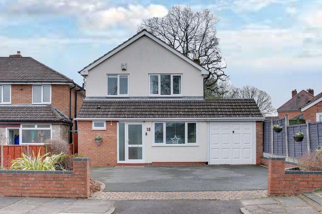 Thumbnail Detached house for sale in Saville Close, Rednal, Birmingham