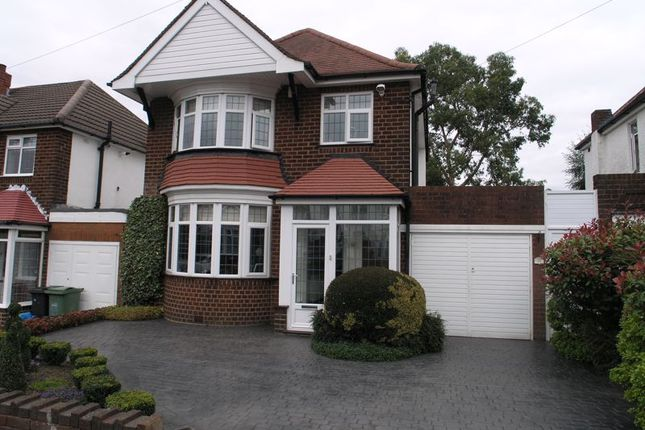 Thumbnail Detached house for sale in Garland Crescent, Halesowen