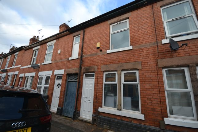 Thumbnail Terraced house to rent in Manchester Street, Derby