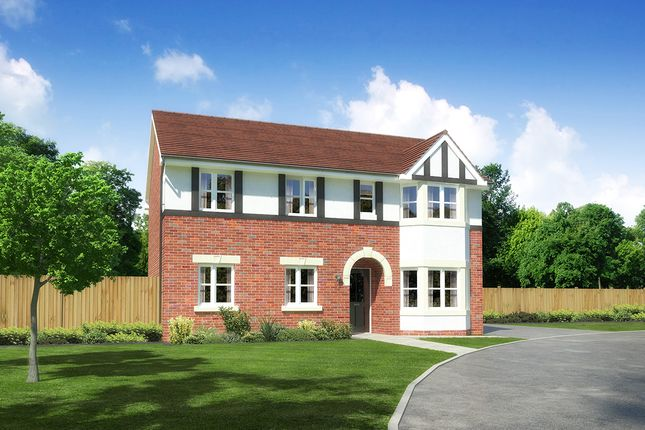 "Thumbnail Detached house for sale in ""Hollandswood"" at Palladian Gardens, Hooton Road, Hooton, Wirral"