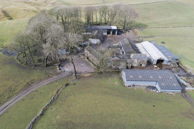 Thumbnail Detached house for sale in Greensides Farm, Hollinsclough, Longnor, Buxton