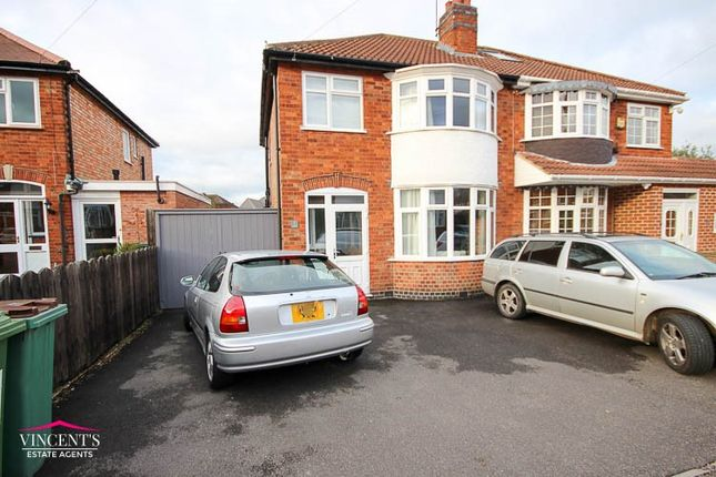 Thumbnail Semi-detached house for sale in Lyndale Road, Leicester