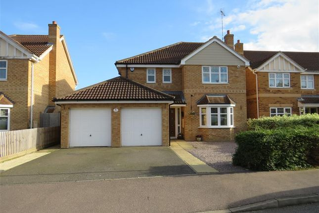 Thumbnail Detached house to rent in Humber Drive, Yaxley, Peterborough