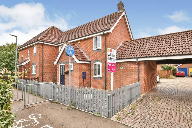 Semi-detached house for sale in Raynham Ride, Dereham