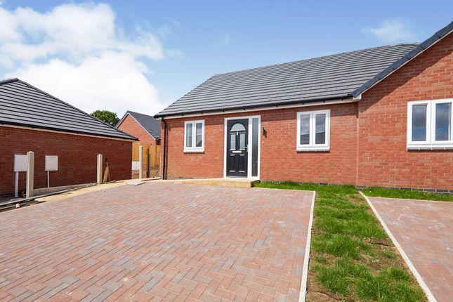2 bed semi-detached bungalow for sale in Hornton Road, Horninglow, Burton-On-Trent DE13