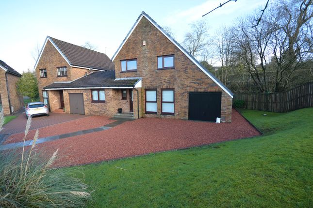Thumbnail Detached house for sale in Barbours Park, Stewarton, Kilmarnock