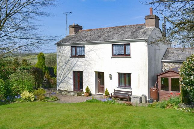 Thumbnail Detached House For Sale In Helstone Camelford