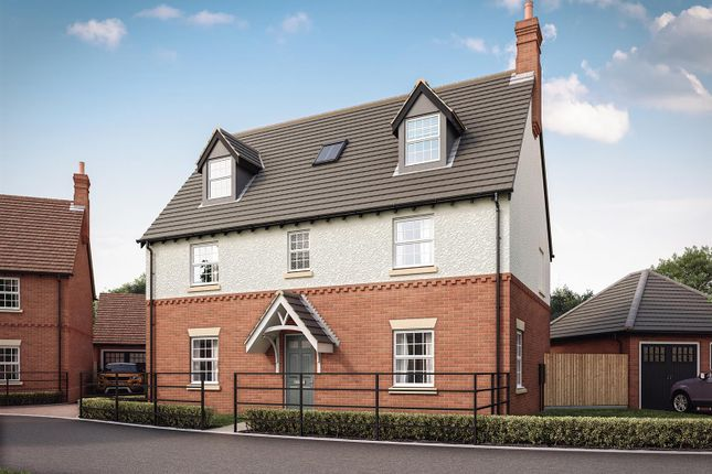 Thumbnail Detached house for sale in Heather Lane, Ravenstone, Coalville