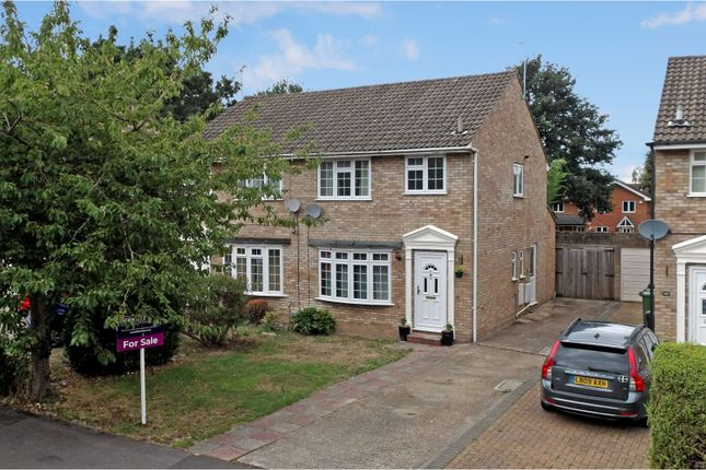 Thumbnail Semi-detached house for sale in Grenville Gardens, Frimley Green