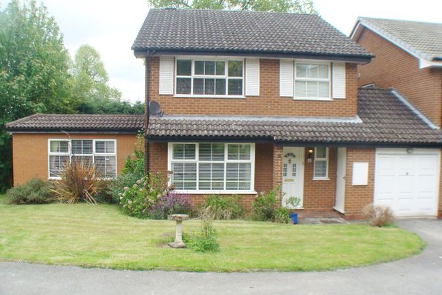 Thumbnail Link-detached house for sale in Rowantrees, Rednal
