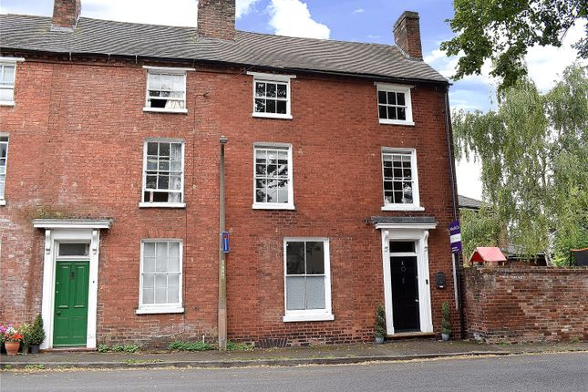 Thumbnail End terrace house for sale in Rose Terrace, Fort Royal, Worcester