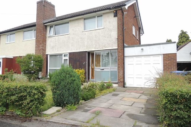 Thumbnail Semi-detached house to rent in Hollingworth Drive, Hawk Green, Stockport