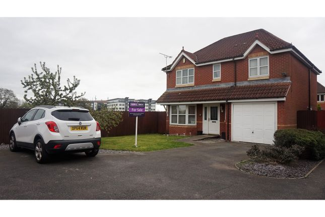 Thumbnail Detached house for sale in Langley Drive, Crewe