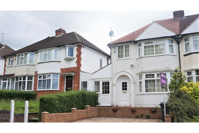 Thumbnail Semi-detached house for sale in Steyning Road, Birmingham