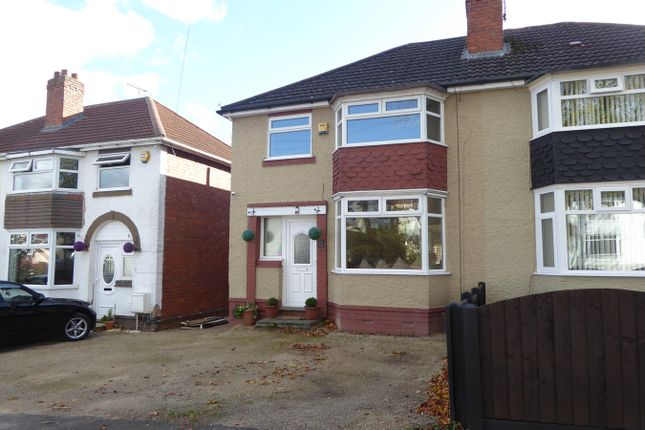 Thumbnail Semi-detached house for sale in Moorpark Road, Northfield, Birmingham