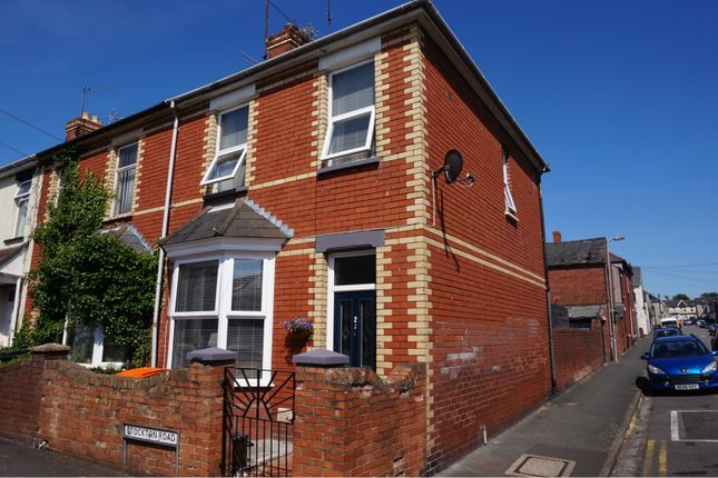 Thumbnail End terrace house for sale in Stockton Road, Newport