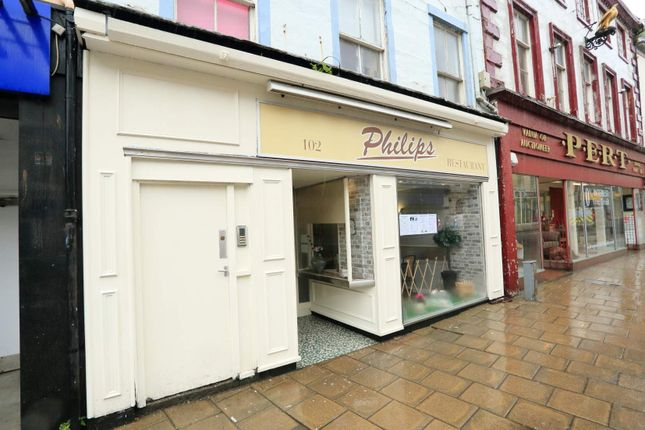 Thumbnail Commercial property for sale in High Street, Arbroath