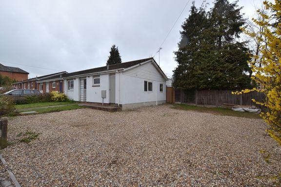 Thumbnail Semi-detached bungalow for sale in Castle Street, Fleet
