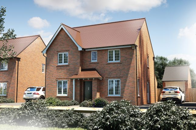 "Thumbnail Detached house for sale in ""The Berrington"" at Oakley Wood Road, Bishops Tachbrook, Leamington Spa"