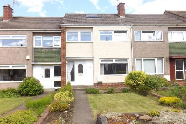 Thumbnail Terraced house to rent in Woodview Lane, Airdrie