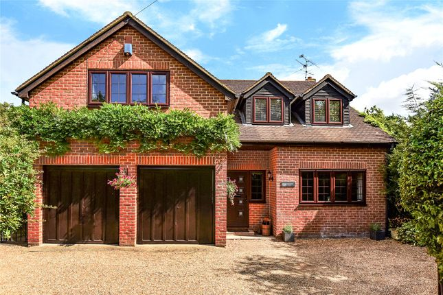 Thumbnail Detached house for sale in Darby Green Road, Darby Green, Camberley