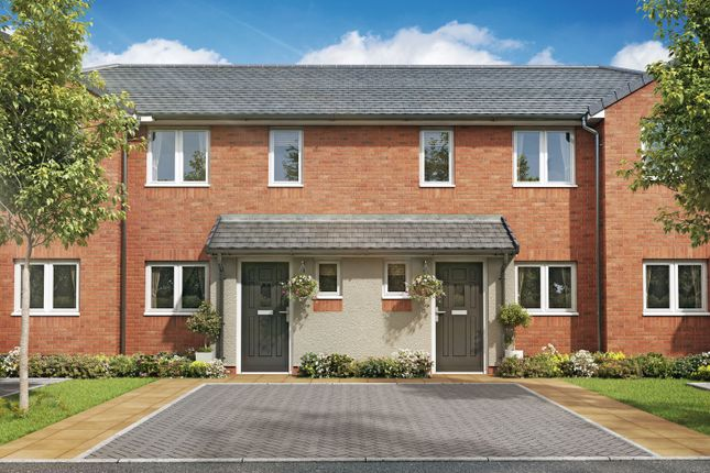 """Thumbnail 2 bed terraced house for sale in """"The Oxcroft II"""" at High Street, Riddings, Alfreton"""