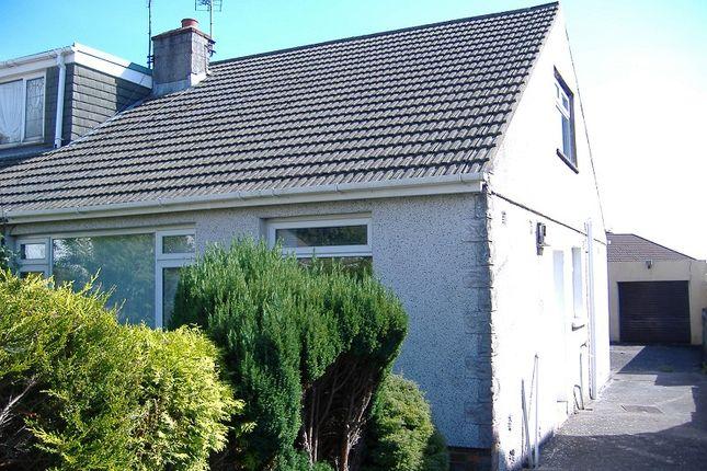 Thumbnail Bungalow to rent in 13 Chaucer Close, Cefn Glas, Bridgend.