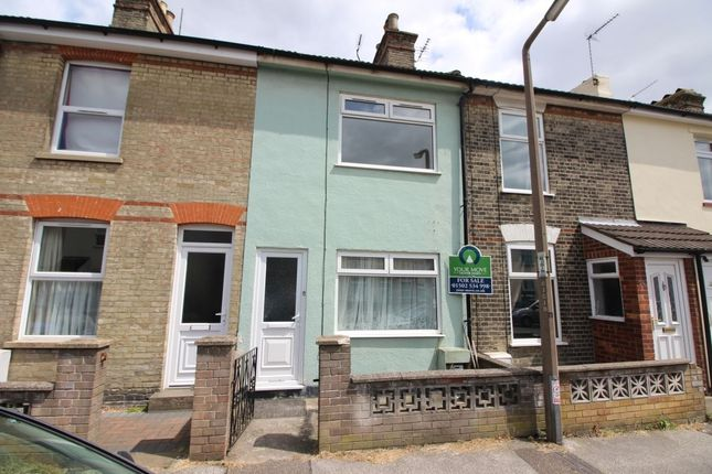 Thumbnail Terraced house to rent in Queens Road, Lowestoft