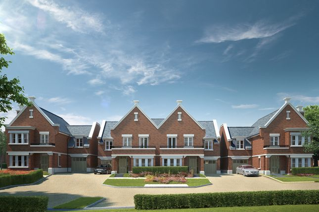 "Thumbnail Semi-detached house for sale in ""The Fallow"" at Butterwick Way, Welwyn"